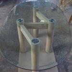 falegnameria GI-CO tavolo cristallo